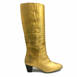 huner - Fold Over Clutch 0038 With Yellow Stripe