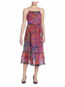 Gillie Printed Midi Dress