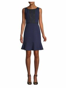 Crepe Sleeveless Dress