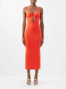 Charles Jeffrey Loverboy - Oversized Cotton Shirt - Womens - White