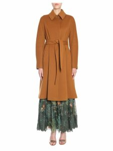 Alberta Ferretti Wool And Cashmere Coat