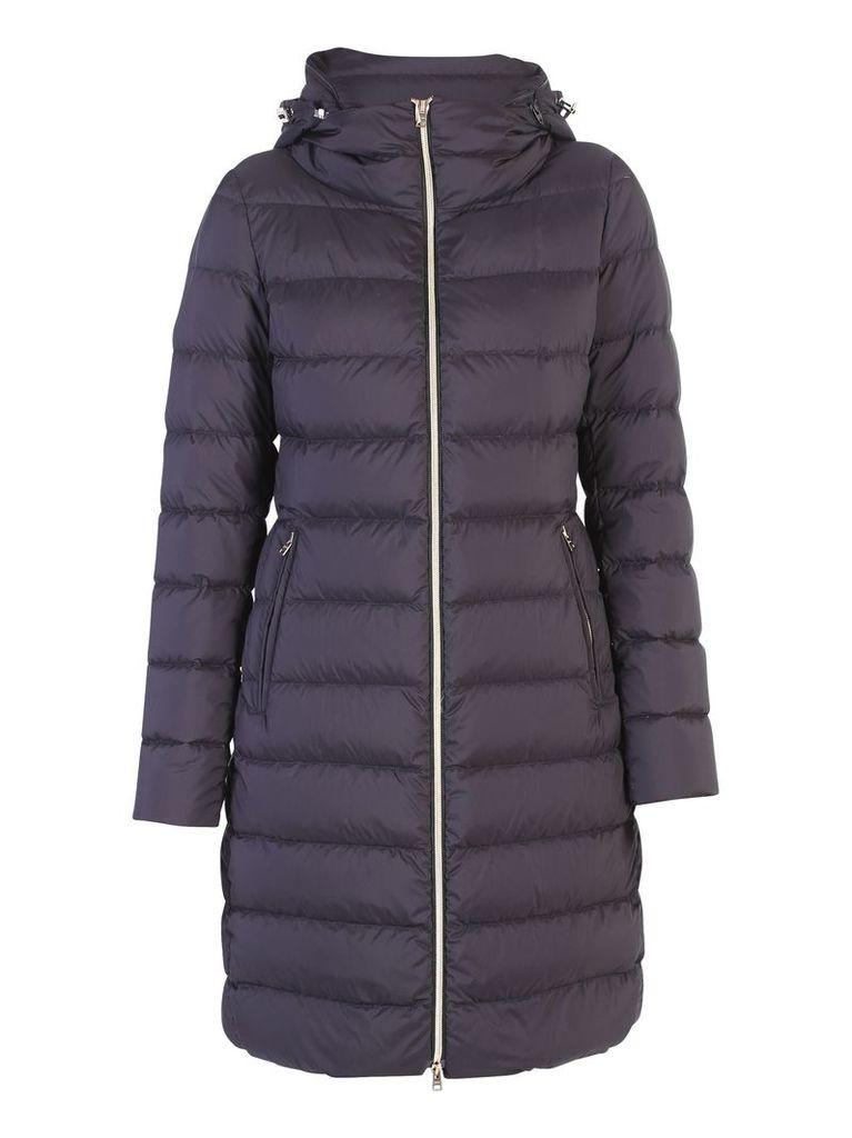 Herno Black Zipped Padded Jacket