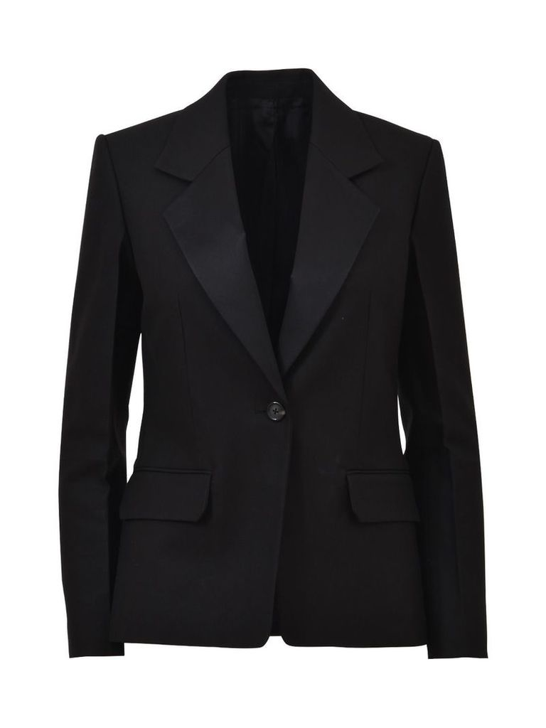 Helmut Lang Black Blazer With Button