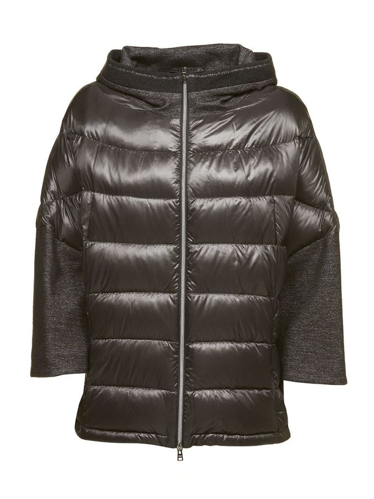 Herno Sleeve Detail Puffer Jacket