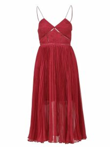 self-portrait Cyclamen Chiffon Dress