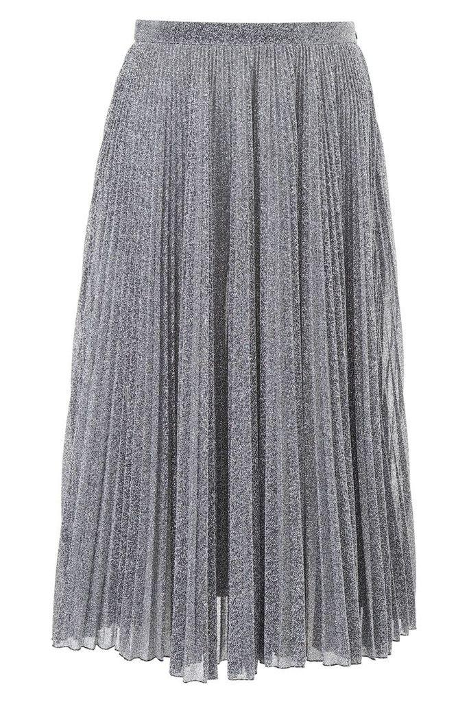 Philosophy di Lorenzo Serafini Pleated Lurex Skirt