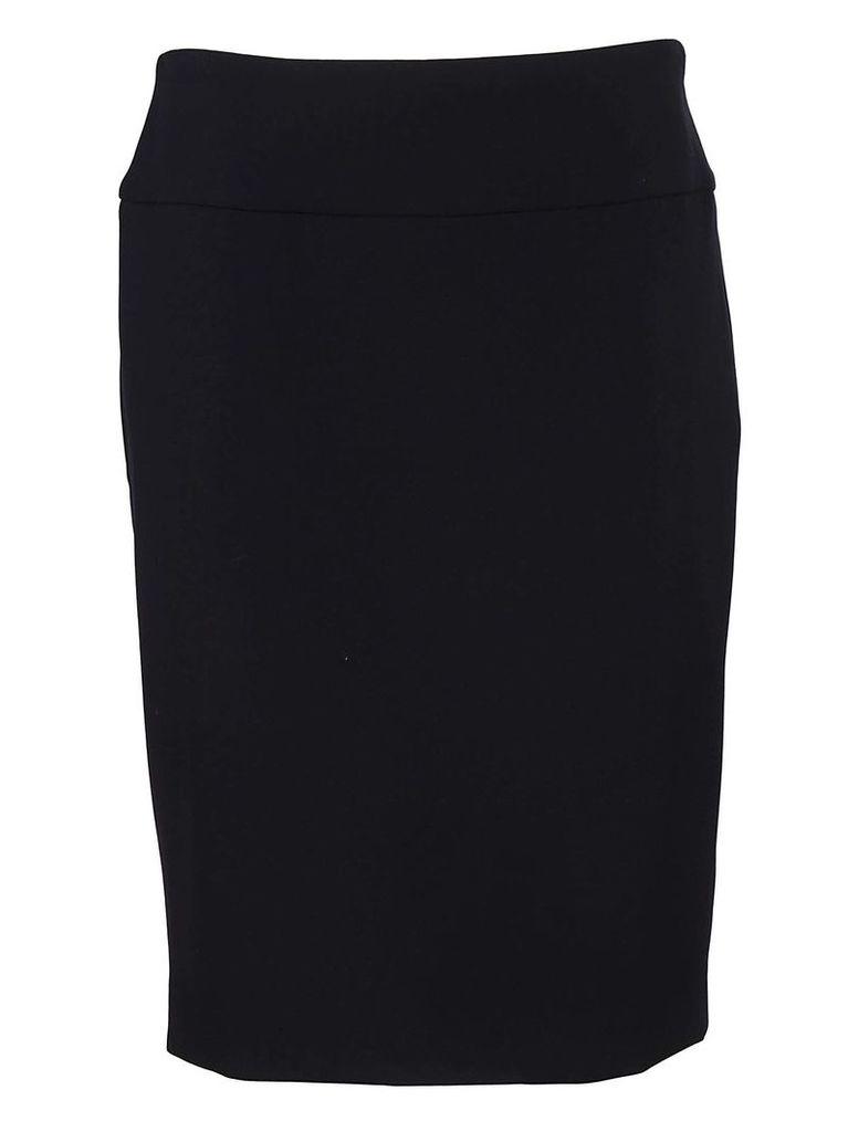 Peserico Rear Slit Skirt