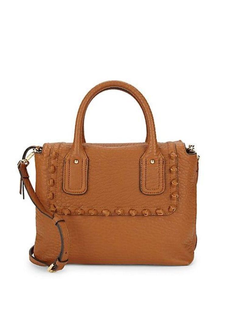 Knot Trim Satchel Bag