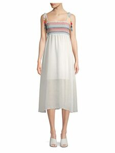 Pippi Smocked Midi Dress