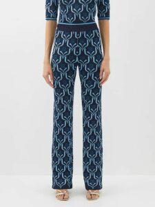 Paco Rabanne - Medium Pr Faux Leather Shoulder Bag - Womens - Black Silver