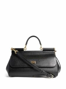 Christian Louboutin - Paloma Embellished Leather Clutch - Womens - Black Gold