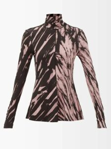 Chloé - Faye Mini Suede Panel Leather Cross Body Bag - Womens - Black