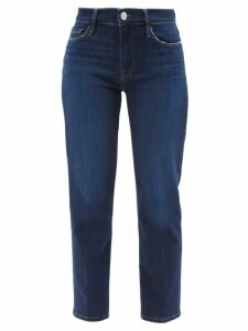 Rodarte - Tie Neck Tartan Coat - Womens - Blue Print