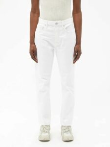 Hillier Bartley - Belted Metallic Silk Satin Dress - Womens - Gold