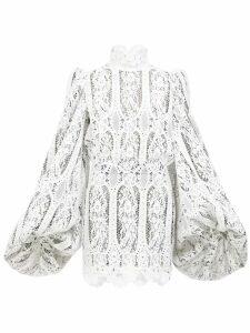Wiggy Kit - St Germain Fil Coupé Cotton Dress - Womens - Black