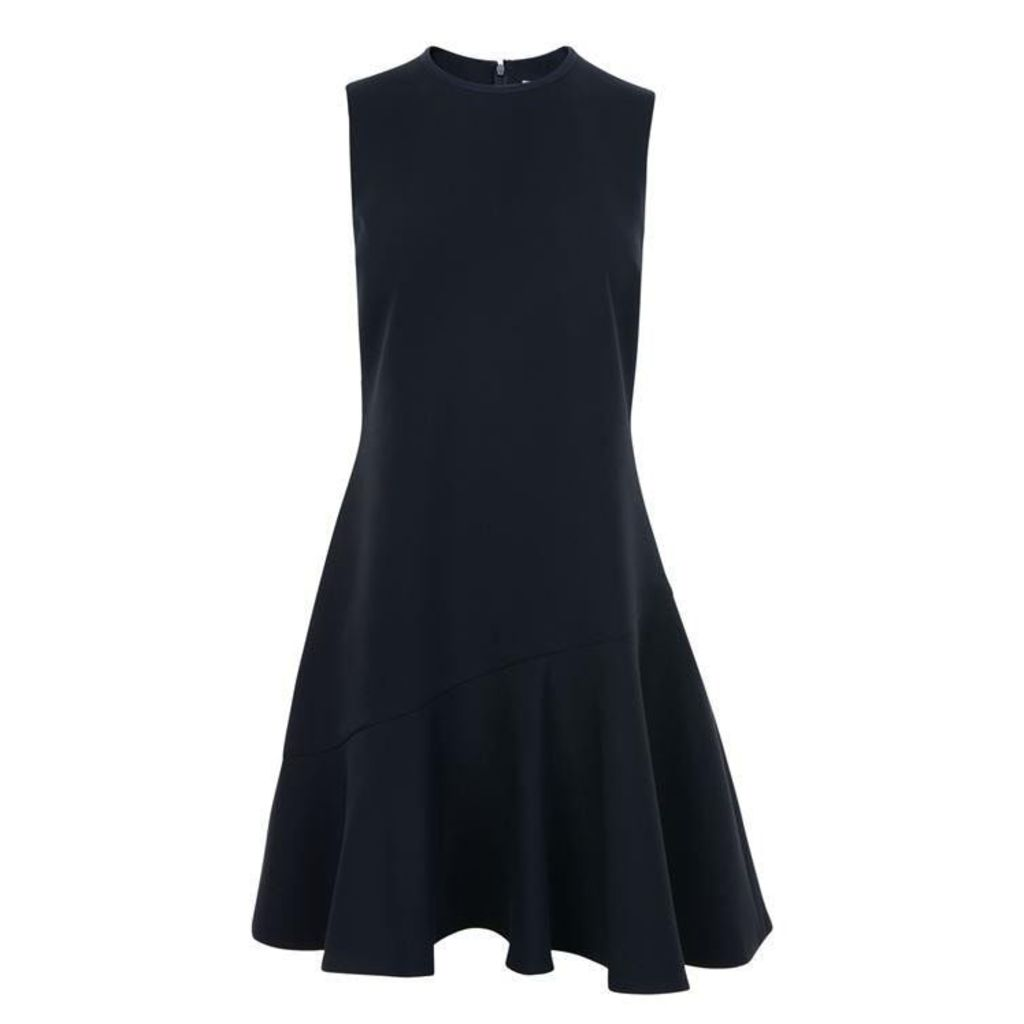 Victoria by Victoria Beckham Crepe Dress