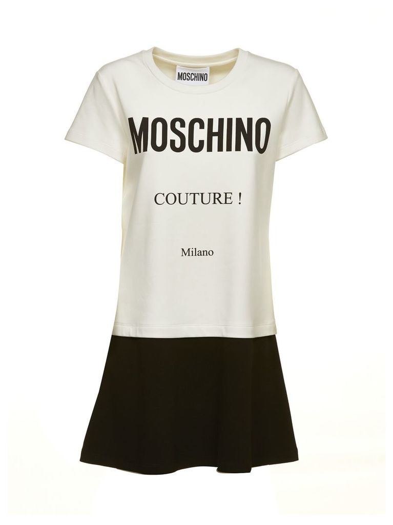 Moschino Logo T-shirt Dress