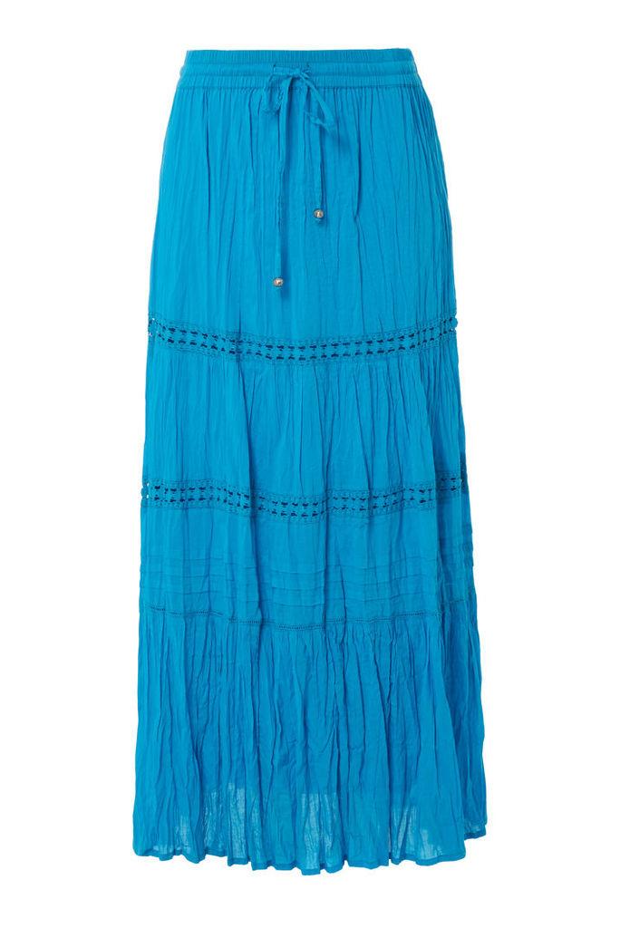 Tiered Gypsy Maxi Skirt