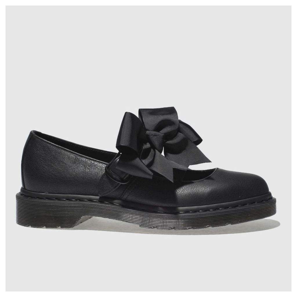 Dr Martens Black Mariel Flat Shoes