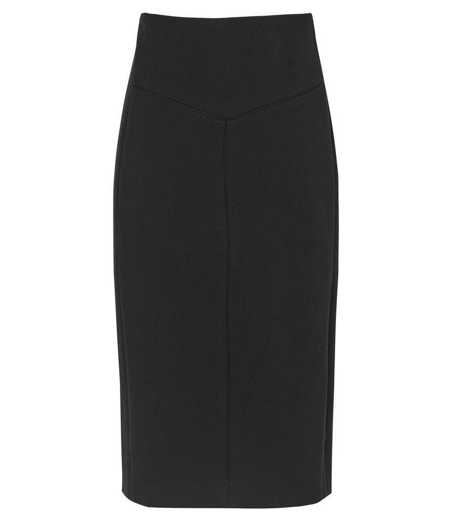 Reiss Abena - Pencil Skirt in Black, Womens, Size 14