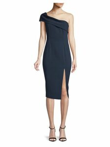 Surrey One-Shoulder Midi Sheath Dress