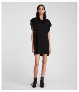 1bc5bddb7da Larissa Deep Plunge Maxi Dress - Black by AQ AQ