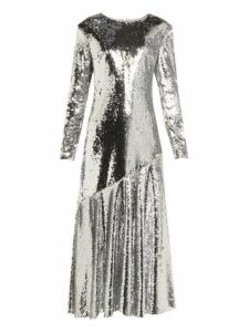 Racil - Gilda Sequin Embellished Dress - Womens - Silver
