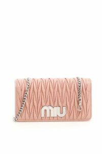 Miu Miu Matelassé Miu Logo Mini Bag
