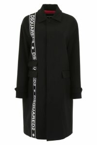 Dsquared2 Oversized Tape Coat