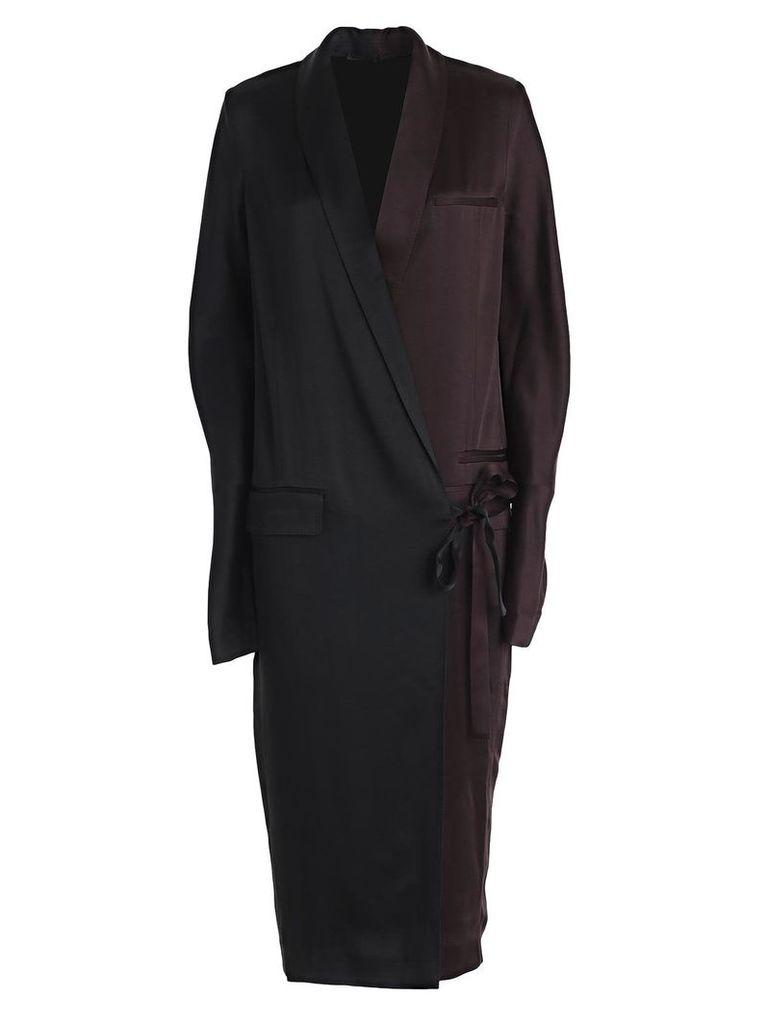 Haider Ackermann Wrap Tux Dress