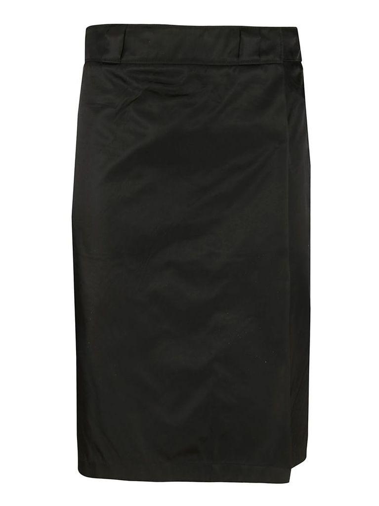 Prada Logo Skirt
