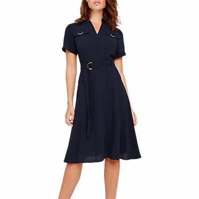 Damsel in a Dress Ennis Trench Dress, Navy
