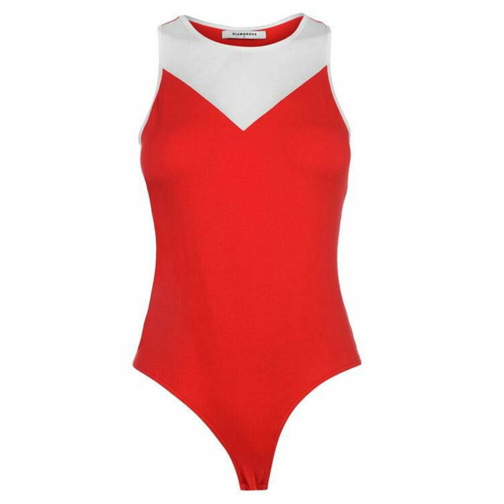 Glamorous Colour Block Bodysuit