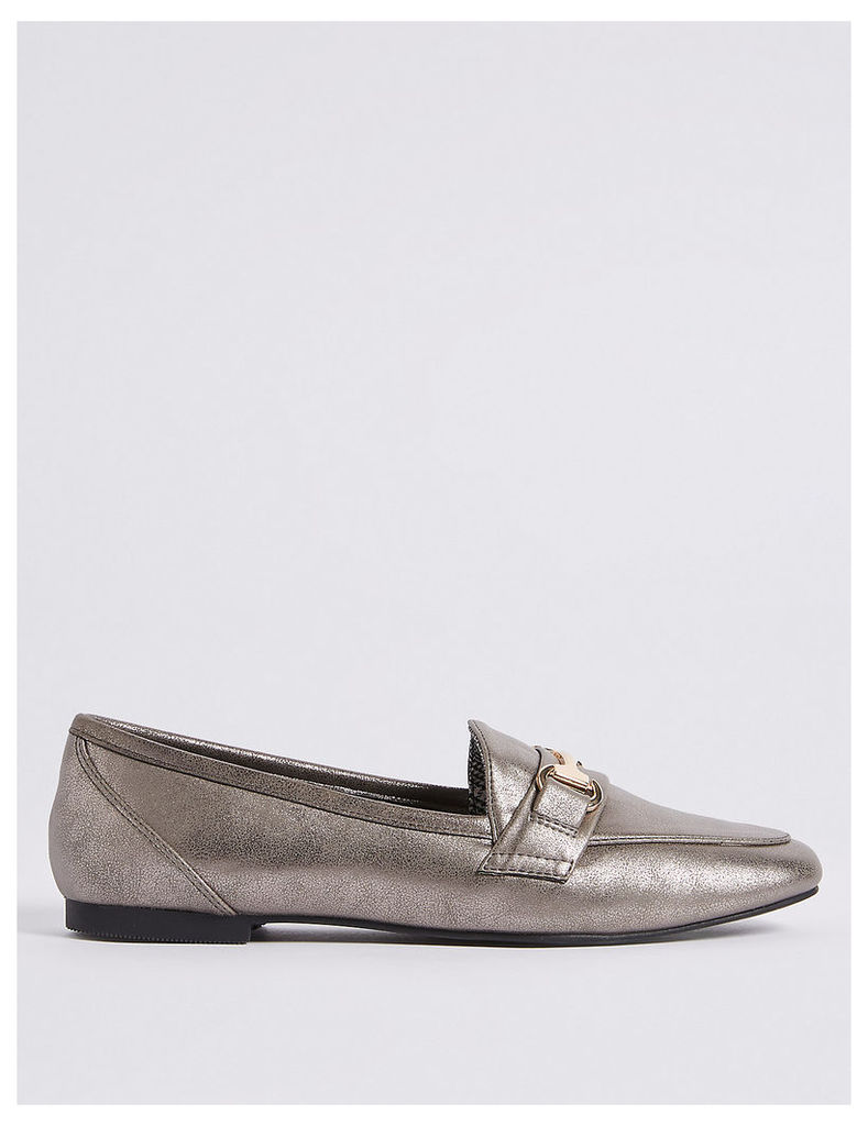 M&S Collection Metal Trim Loafers