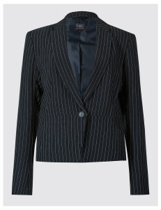 M&S Collection Pin Stripe Blazer