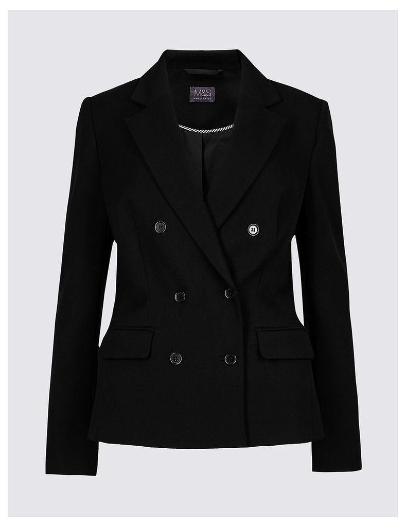 M&S Collection Classic Double Breasted Blazer