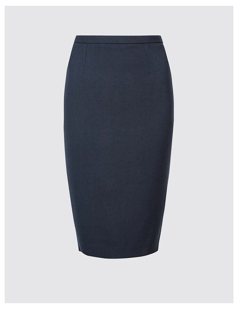 M&S Collection Tailored Fit Pencil Skirt