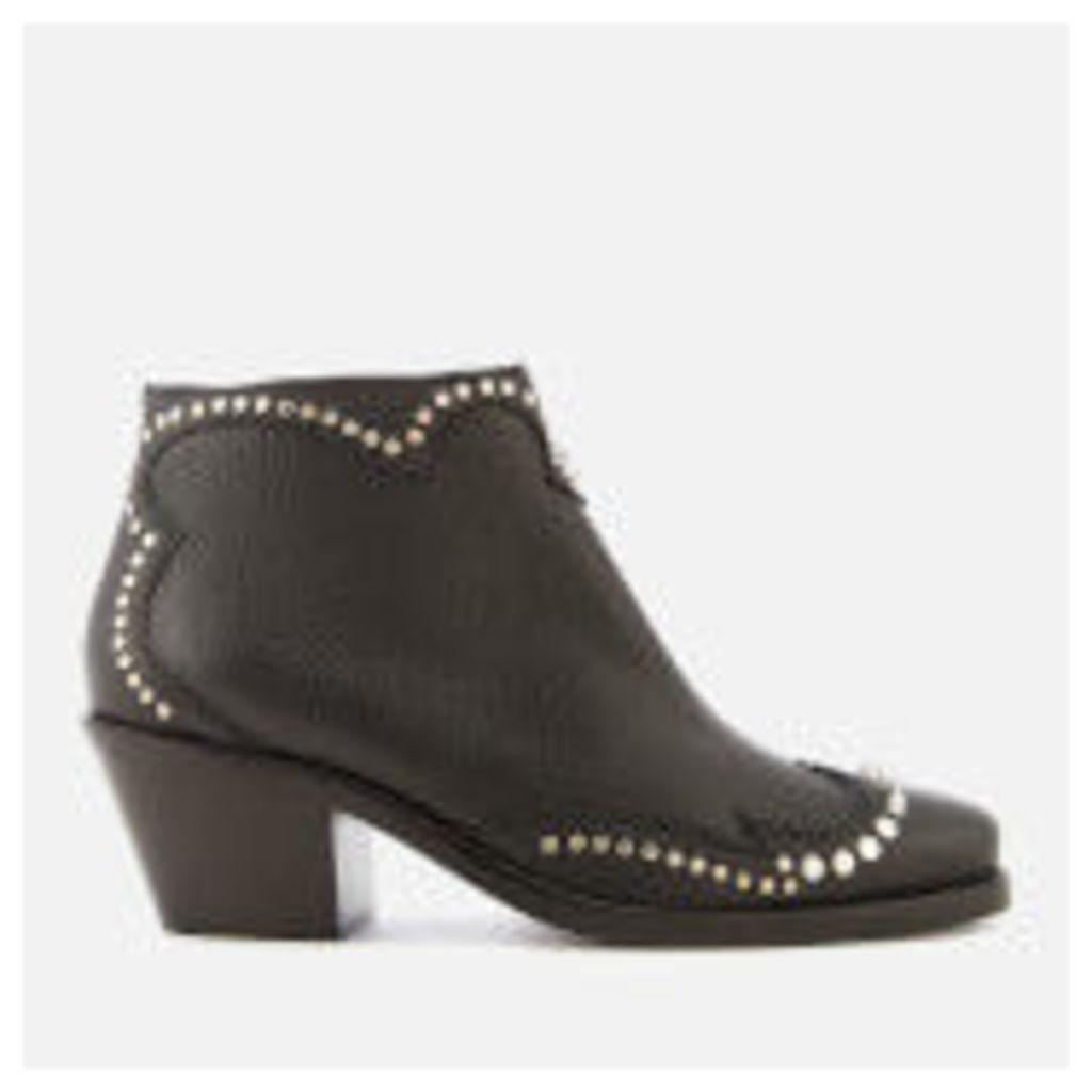 McQ Alexander McQueen Women's New Solstice Zip Ankle Boots - Black