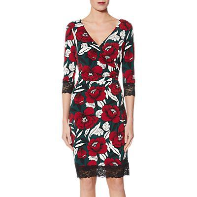 Gina Bacconi Marina Lace Dress, Green