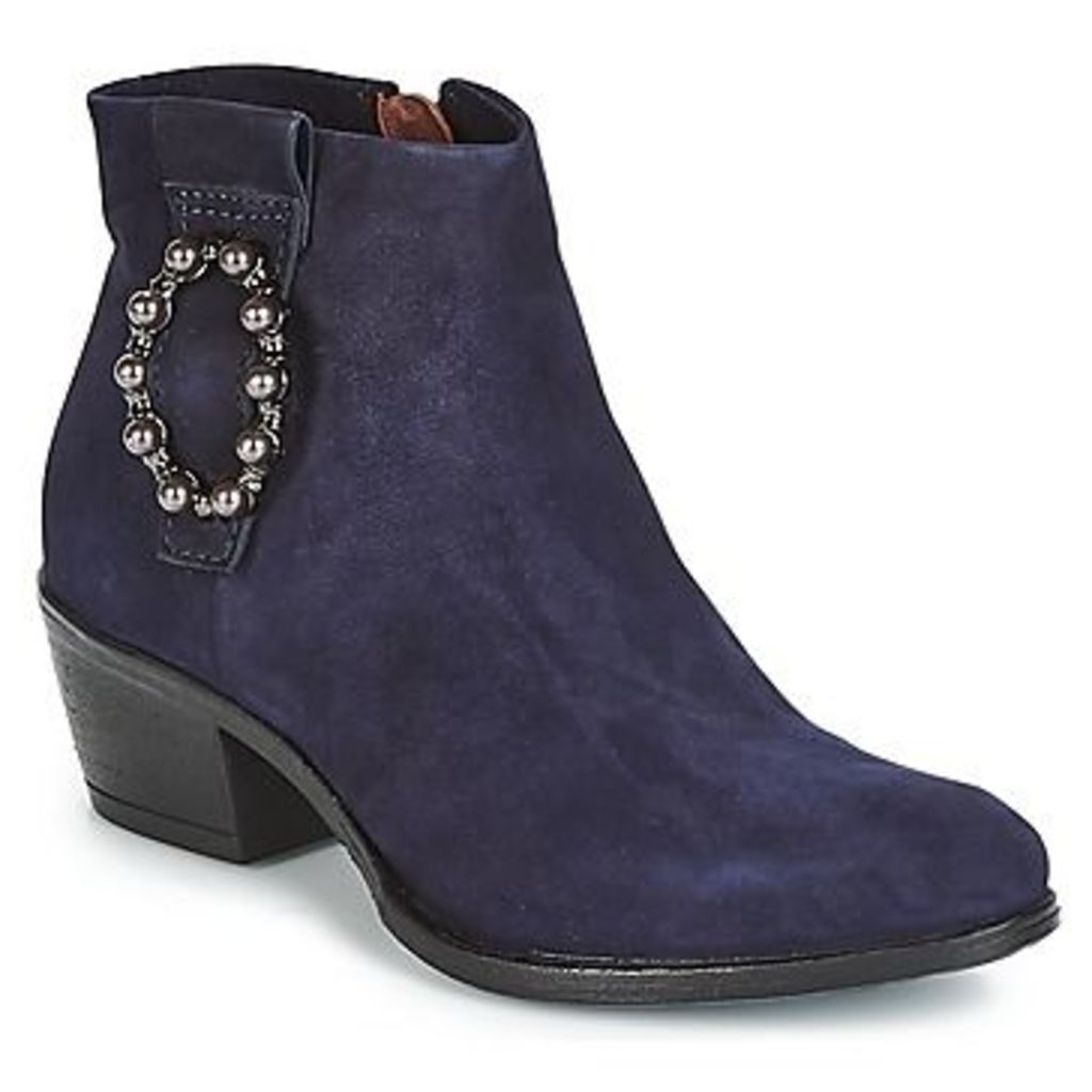 Mjus  DALLY BOUBLE  women's Mid Boots in Blue