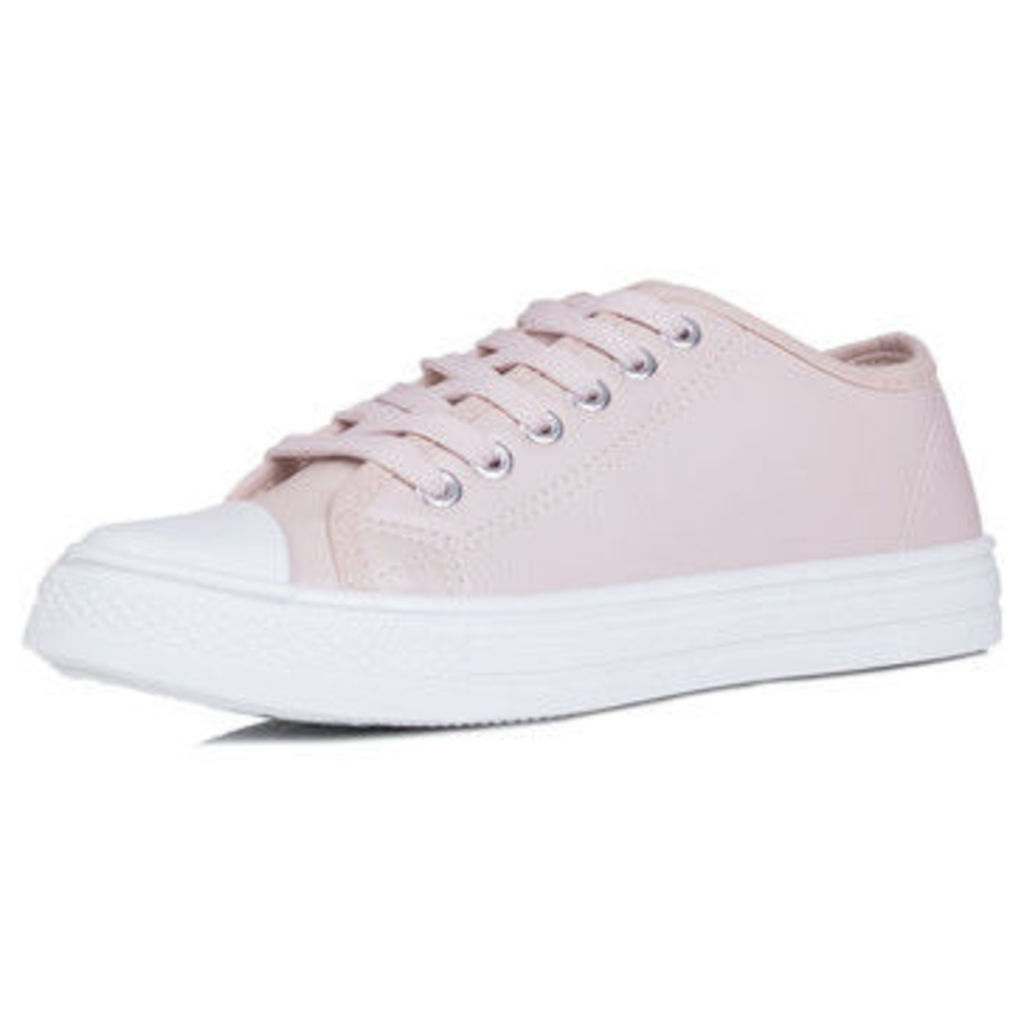 Spylovebuy  Never  women's Shoes (Trainers) in Pink