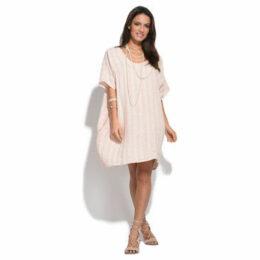 Couleur Lin  Dress  women's Dress in Pink