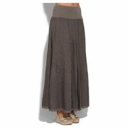 Couleur Lin  Skirt  women's Skirt in Brown