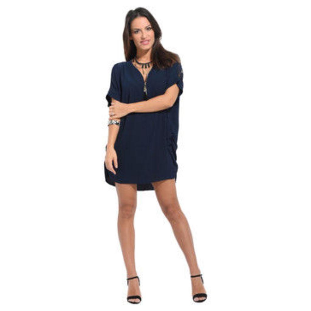 Anabelle  Short sleeve dress  women's Dress in Blue