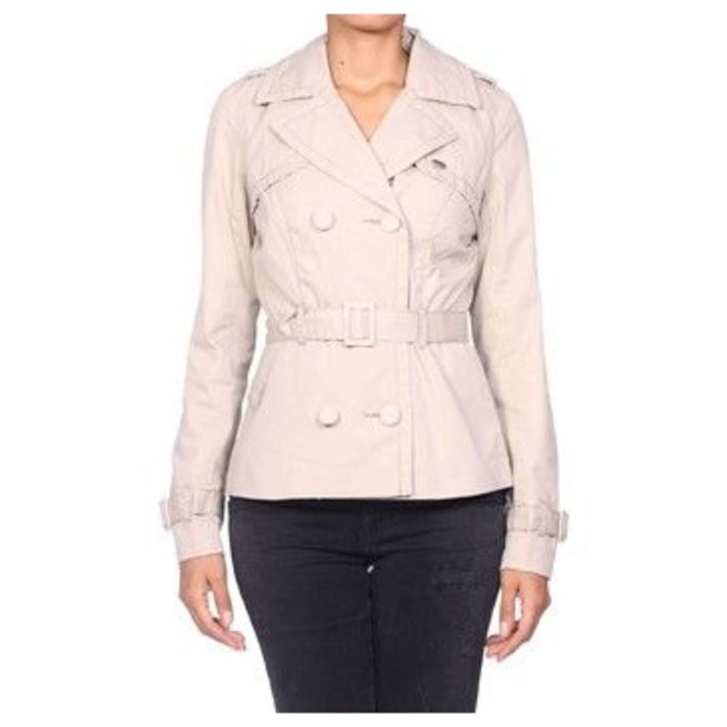 Kaporal  - Women's Jacket LALOUE  women's Trench Coat in Beige