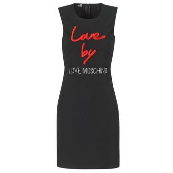 Love Moschino  CARININA  women's Dress in Black