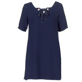 Betty London  HOUNI  women's Dress in Blue