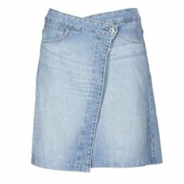 G-Star Raw  ARC WRAP SKIRT  women's Skirt in Blue