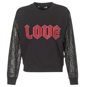 Love Moschino  NARU  women's Sweatshirt in Black