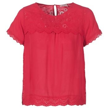 Betty London  JALILI  women's Blouse in Red